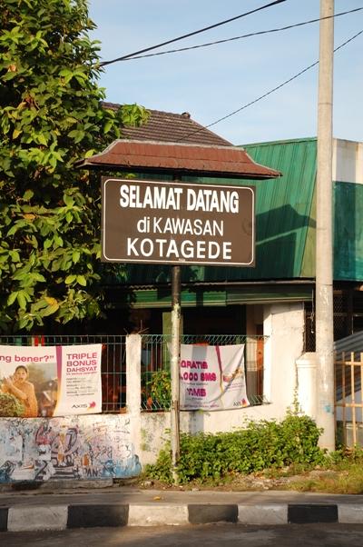 Willkommen in Kotagede!