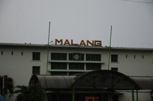 bagian depan stasiun Malang