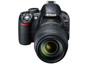 tampilan depan Nikon D3100
