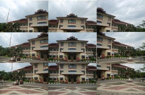 contoh 9 foto untuk sebuah bangunan