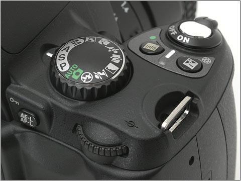 mode dial pada DSLR entry level (Nikon dalam hal ini) -comot dari dpreview-