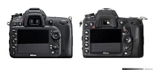 D7100 (kiri) dan D7000 (kanan), well tidak banyak perubahan kan?
